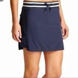 Women's Size 6 Athleta Navy Blue Skort Skirt